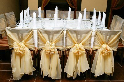 Decorating chairs design decoration wedding chair backs ruffled wedding reception chair decorations weddings superweddings junglespirit Choice Image