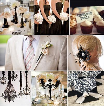 Ivory & Black Wedding Theme - Jamaica Weddings Blog