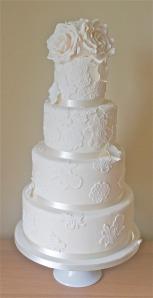 Lacewedding cake2