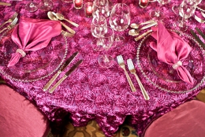 Fuchsia Table