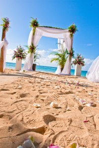 Jamaican Beach Wedding at Laughing Waters