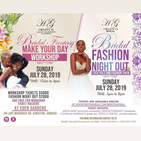 Bridah Fashion Night Out Main Flyer